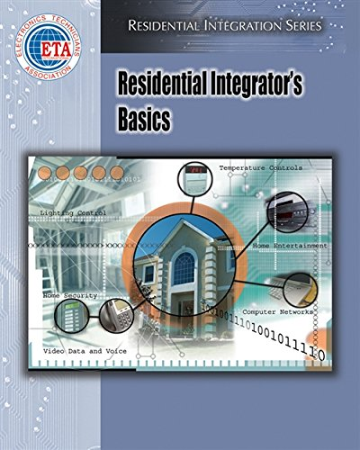 9781418014070: Residential Integrator's Basics (Residential Integration)