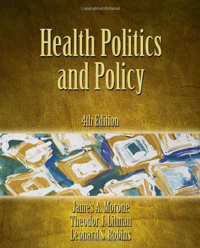 9781418014285: Health Politics and Policy
