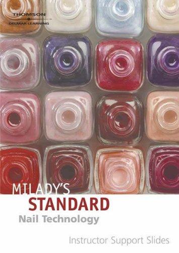 Slides CD-STD Nail Technology (9781418016210) by MILADY; SCHULTES