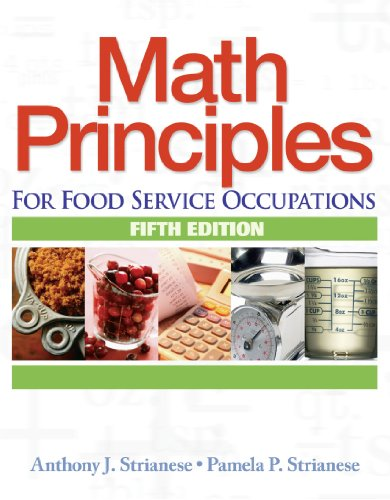 9781418016463: Math Principles for Food Service Occupations (Applied Mathematics)