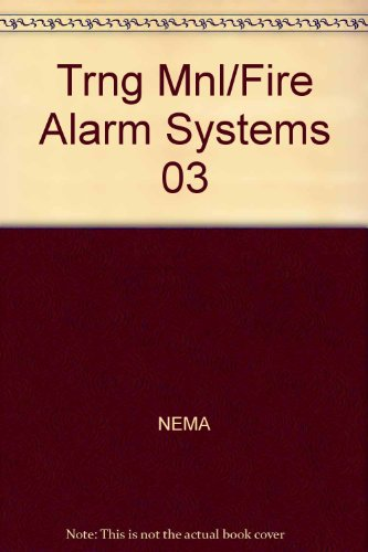9781418019211: Training Manual on Fire Alarm Systems