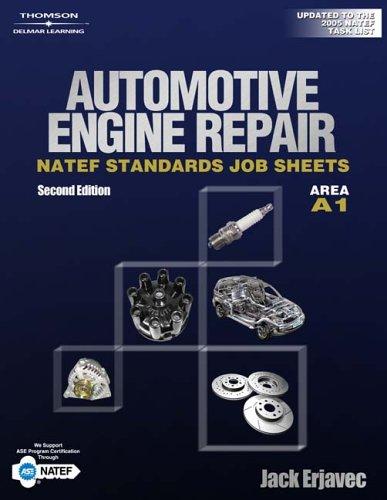 NATEF Standard Jobsheet A1 (Natef Standards Job Sheets): Erjavec, Jack