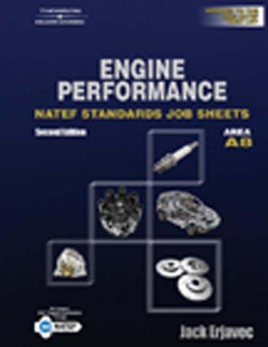 NATEF Standard Jobsheet A8 (Natef Standards Job Sheets): Jack Erjavec