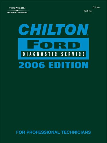 9781418021191: Chilton 2006 Ford Diagnostic Service Manual (Chilton Ford Diagnostic Service Manual)