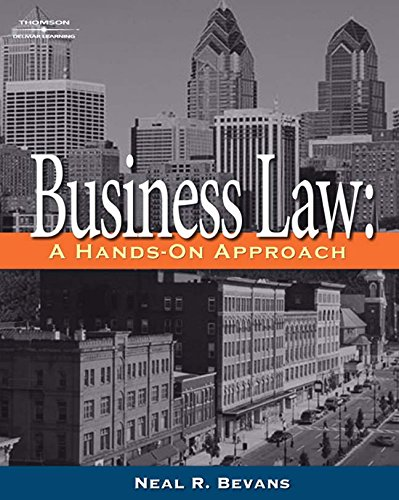 Bundle: Business Law A Hands on Approach + Surviving and Thriving in the Law Office: Bevans, Neal R...