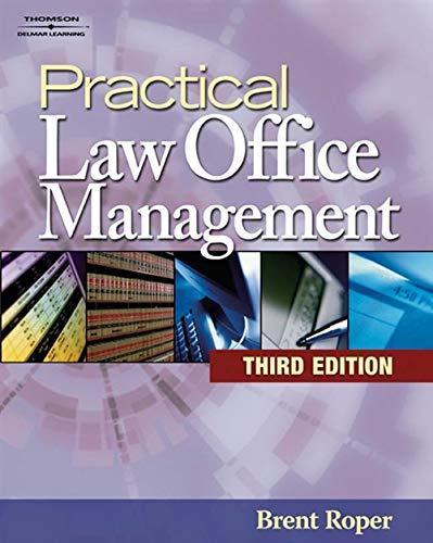 9781418029708: Practical Law Office Management