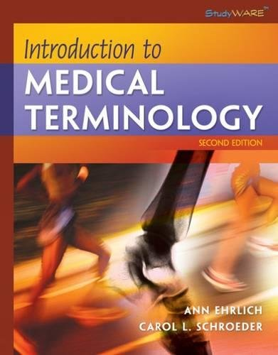 9781418030179: Introduction to Medical Terminology (Studyware)