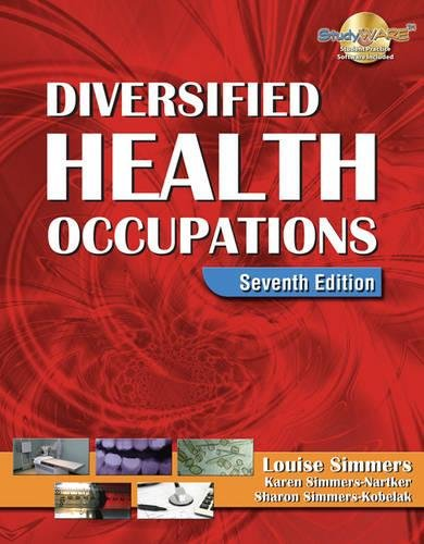 9781418030216: Diversified Health Occupations
