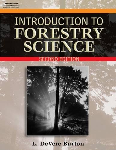 9781418030872: Introduction to Forestry Science 2e