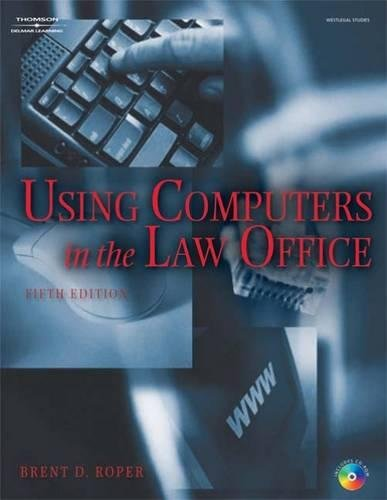 9781418033125: Using Computers in the Law Office