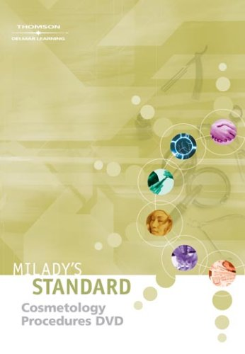 9781418037352: Milady's Standard Cosmetology Procedures DVD for Students