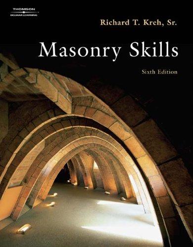 9781418037536: Masonry Skills
