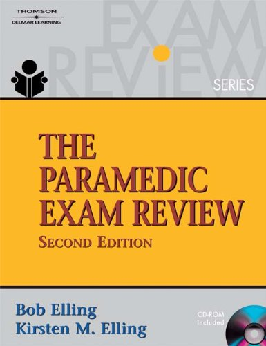 9781418038182: The Paramedic Exam Review (Thomson Delmar Learning's Exam Review)