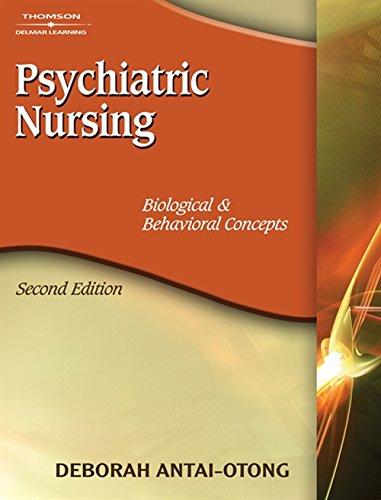 9781418038724: Psychiatric Nursing: Biological & Behavioral Concepts