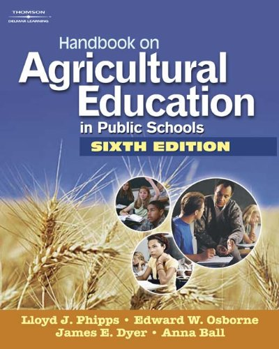 Handbook on Agricultural Education in Public Schools: Ball, Anna L,