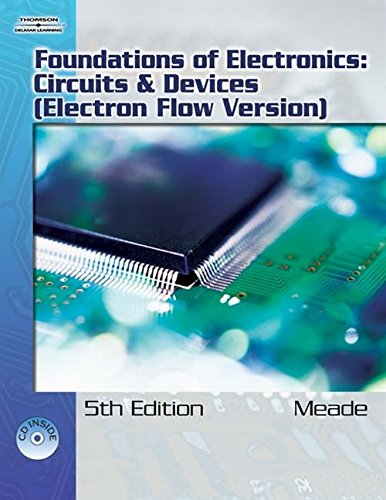 Foundations of Electronics 9781418041830 The Lab Manual for FOUNDATIONS OF ELECTRONICS: CIRCUITS & DEVICES, 5th Edition, is a valuable tool designed to enhance your classroom experience. Lab activities, objectives, materials lists, step-by-step procedures, illustrations, review questions and more are all included.