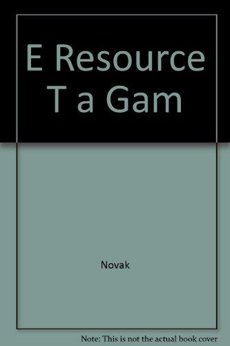 9781418042097: E Resource T a Gam