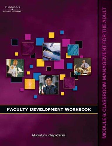 Workbook for Milady U Faculty Development: Module: Solomon, Amy, Quantum