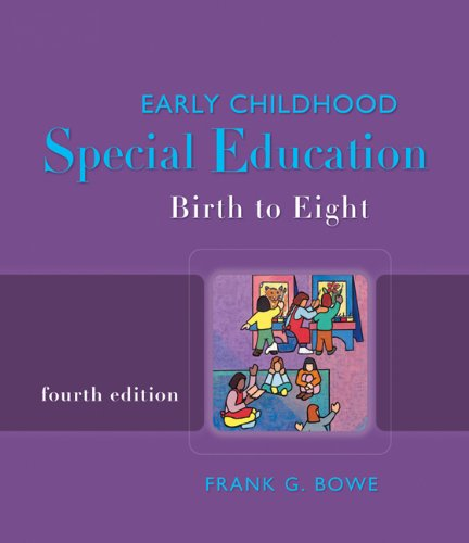 9781418048105: Early Childhood Special Education: Birth to Eight