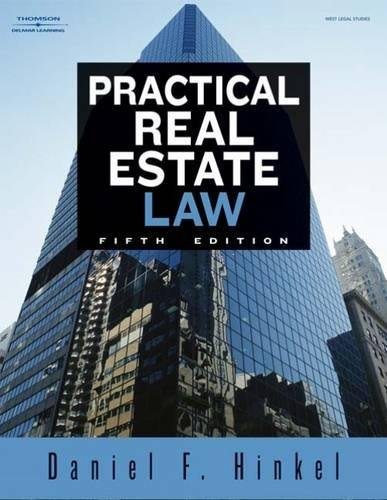 9781418048419: Practical Real Estate Law