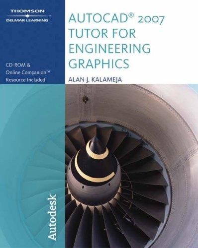 9781418049027: Autocad 2007 Tutor for Engineering Graphics
