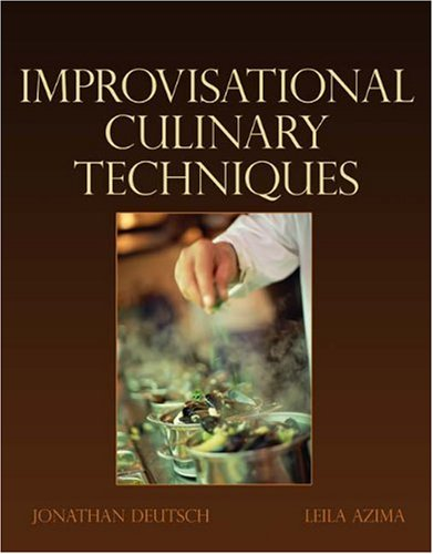 9781418050078: Advanced Culinary Techniques: Improvisational Cooking