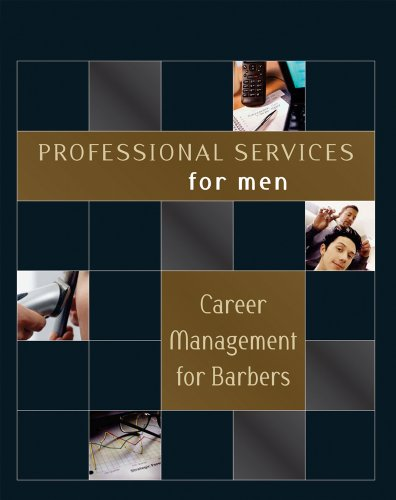 9781418050887: Professional Services for Men: Career Management for Barbers