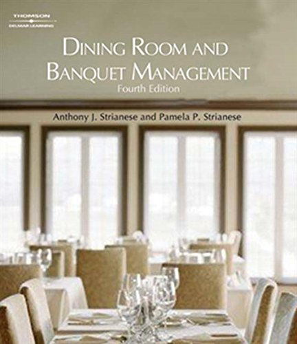 9781418053697: Dining Room and Banquet Management