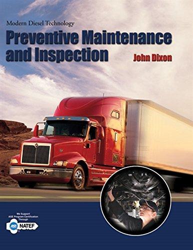 9781418053918: Modern Diesel Technology: Preventive Maintenance and Inspection
