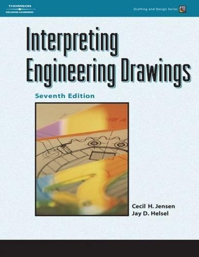 9781418055738: Interpreting Engineering Drawings (Drafting and Design)