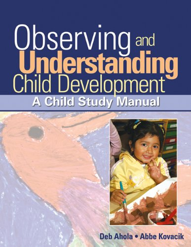 9781418057930: Bundle: Observing and Understanding Child Development: A Child Study Manual + Child Care in Action: School Age CD-ROM