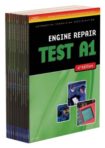 Ase Test Prep Series 4e: A1 - A8, & L1 Pkg