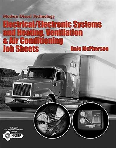 9781418063382: Modern Diesel Technology: Electrical/Electronic Systems and Heating, Ventilation, Air Conditioning Systems Job Sheets