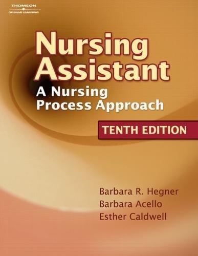 9781418066093: Workbook to Accompany Nursing Assistant: A Nursing Process Approach