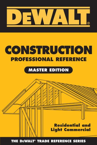 Construction Contractors Handbook: Residental and Light Commerical: Spence, William P.