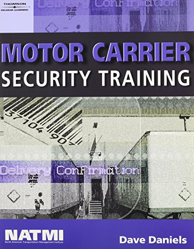 9781418066611: Motor Carrier Security Training Student Workbook and Truck Drivers: Steps to Ensure Cargo Security DVD