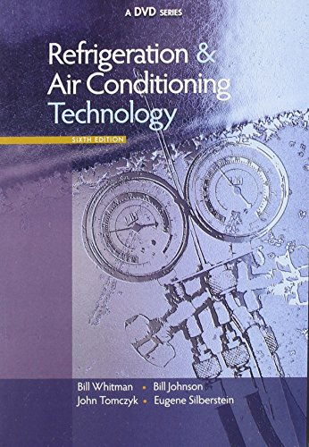 9781418072834: DVD Set for Whitman/Johnson/Tomczyk/Silberstein's Refrigeration and Air Conditioning Technology, 6th