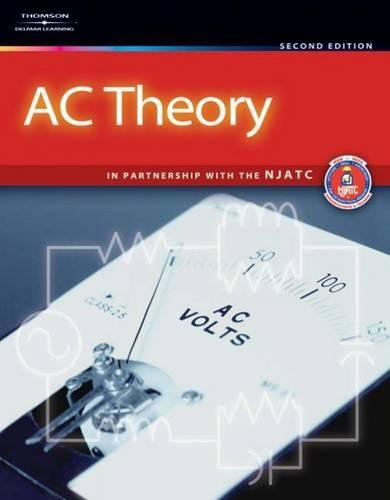 Ac Theory 9781418073435 This fundamental alternating current (AC) theory book, now in its second edition, offers a user-friendly approach and practical examples to keep industry professionals up-to-date. Designed to provide a thorough introduction to AC theory from its production, to its uses and circuitry; AC Theory, 2E uses the basics of direct current theory to explain the various facets of AC theory. The book begins by covering the primary components of AC circuits, such as resistors, inductors, and capacitors. The chapters that follow build upon the basic principles learned in these chapters, gradually introducing increasingly complex topics such as applying AC principles in power generation and generators, parallel and combination circuits, and more. With updated sidebars that provide a real-world context for the topics covered, users will develop strong connections between theory and applications, preparing them for work in the electrical field.