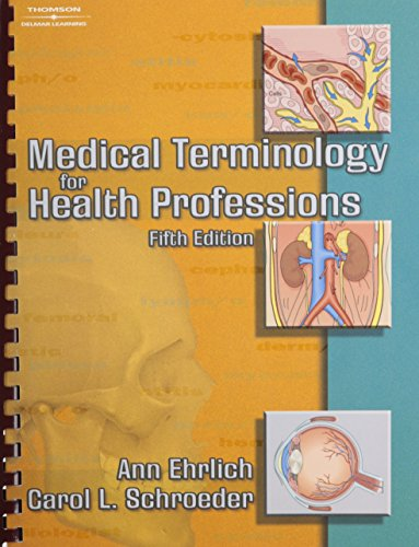 9781418081287: Medical Terminology for Health Professions