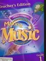 9781418253158: Making Music - Silver Burdett -Teachers Edition Part 1 Grade 1