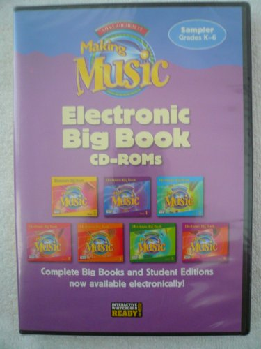MUSIC 2005 MAKING MUSIC ELECTRONIC BIG BOOK CD-ROM GRADE 6 (9781418257828) by SILVER BURDETT