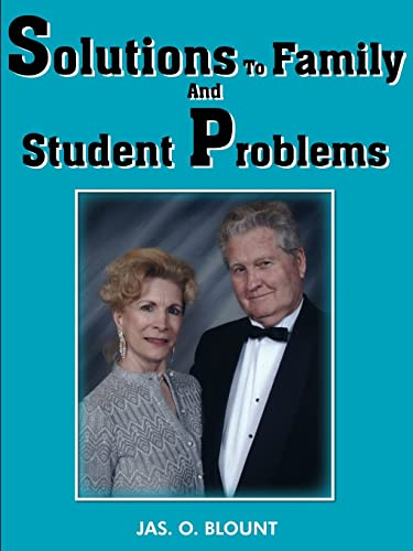 Solutions To Family And Student Problems: Jas Blount