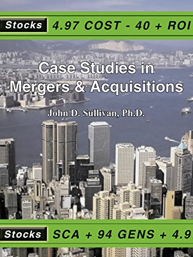 9781418438449: Case Studies in Mergers & Acquisitions