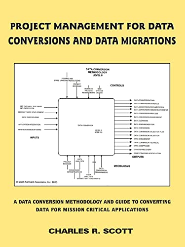 9781418452162: Project Management for Data Conversions and DATA MIGRATIONS: A Data Conversion Methodology and Guide to Converting Data for Mission Critical Applications