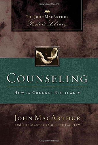 Counseling: The John MacArthur Pastor's Library: MacArthur, John F.,