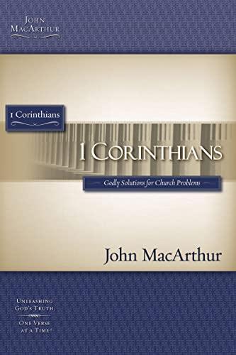 9781418508760: 1 CORINTHIANS STG (Macarthur Bible Studies)