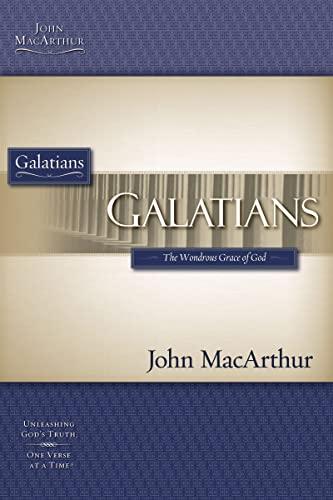 9781418508777: GALATIANS (Macarthur Bible Studies)