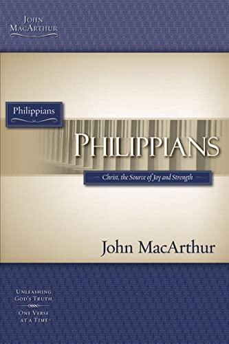MACARTHUR STUDY GUIDE SERIES: PHILIPPIANS (Macarthur Bible Study) (9781418509606) by John MacArthur