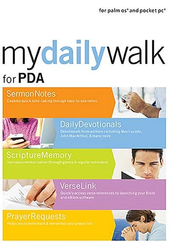 My Daily Walk for PDA: Digital Tools to Enhance Your Christian Journey (1418510211) by Nelson Reference