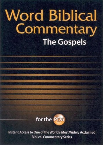 Wbc for PDA: The Gospels (9781418514334) by Nelson Reference
